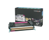 Lexmark C736, X736, X738 Magenta High Yield Return Program Toner Cartridge