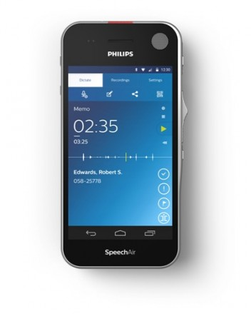 Philips SpeechAir - SpeechExec Software Included
