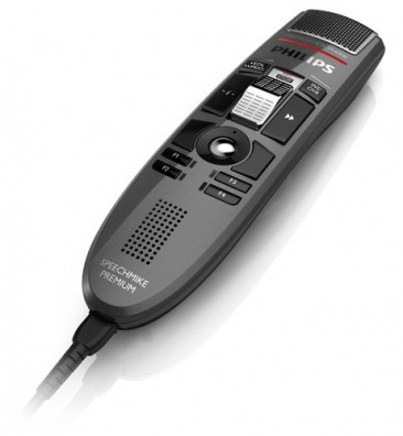 Philips 3510 SpeechMike Premium USB dictation microphone - Slide Switch